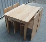 Tafel + 4 stoelen  _