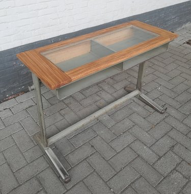 Schooldesk with display